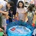英語で楽しい魚釣り♪子ども英会話のMLSで楽しみながら英語に触れるイベント開催!